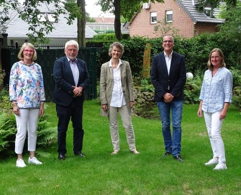 Vorstand Hospiz- und Palliativ-Verein Gütersloh e.V. 2021